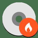 Disk burner icon