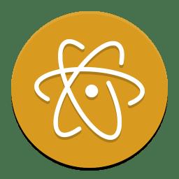 Atom Beta Icon Papirus Apps Iconset Papirus Development Team