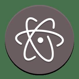 Atom Icon Papirus Apps Iconset Papirus Development Team