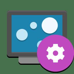 Livewallpaper Config Icon Papirus Apps Iconset Papirus Development Team