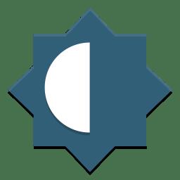 Preferences system brightness lock icon