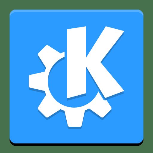 Desktop environment kde icon