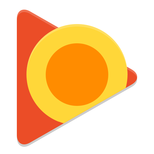 Google play music desktop player icon