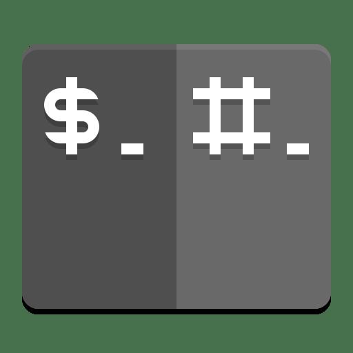 Tilix icon