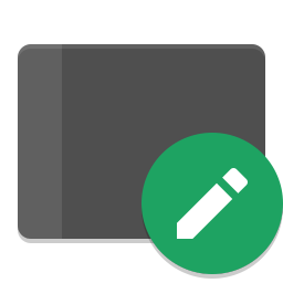 Input tablet icon