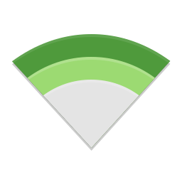 Network wireless hotspot icon