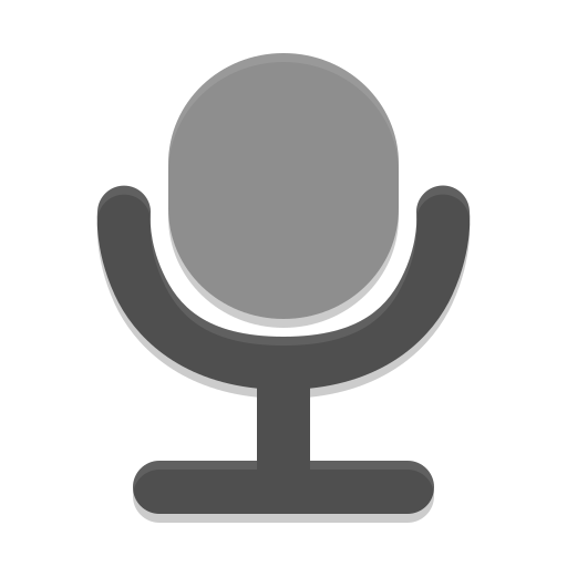 Audio-input-microphone icon