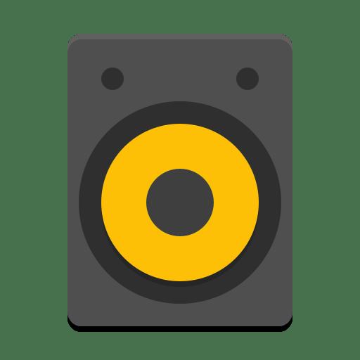 Audio-speakers icon