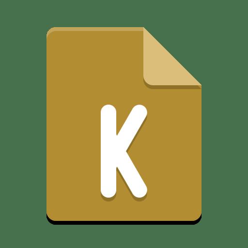 App x kmymoney icon