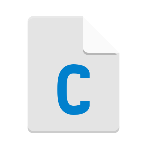 Text-x-csrc icon