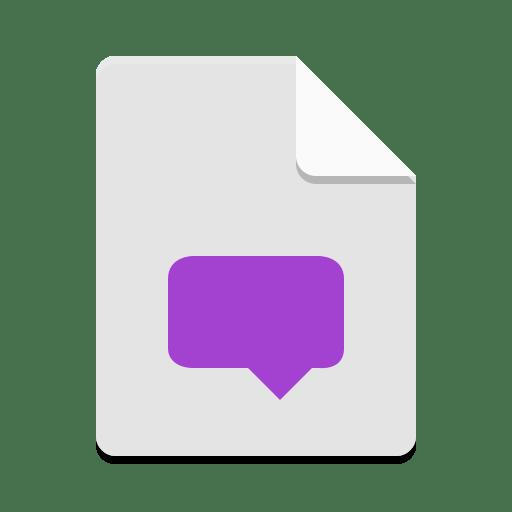 Text-x-mo icon