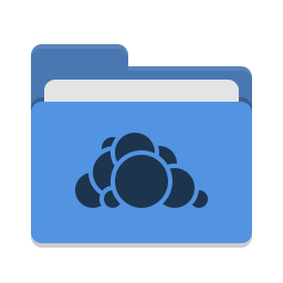 Folder blue owncloud icon
