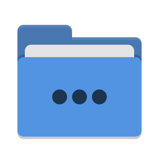 Folder-blue-activities icon