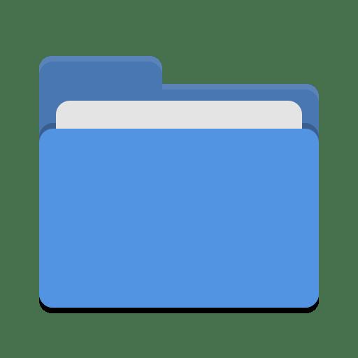 Folder blue Icon | Papirus Places Iconset | Papirus ...