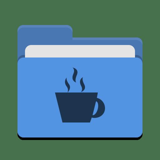 Folder-blue-java icon