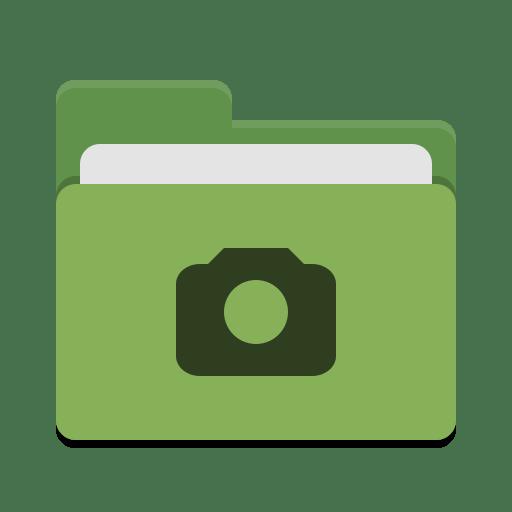 Folder-green-photo icon