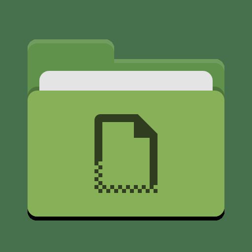Folder-green-templates icon