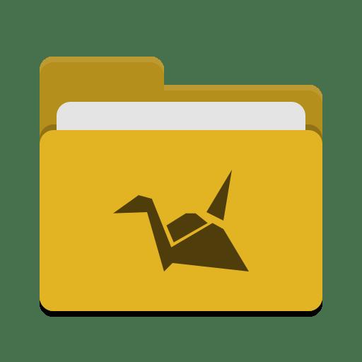 Folder yellow copy cloud icon