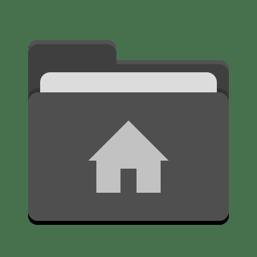 User-black-home icon