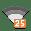 Nm signal 25 icon