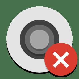 Camera off icon