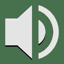 Notification audio volume medium icon