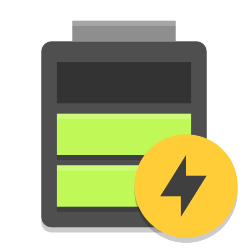 Battery-good-charging icon