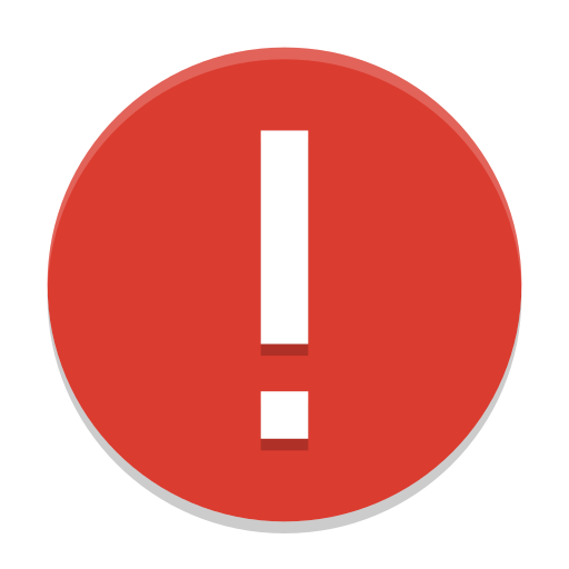 Dialog-error icon