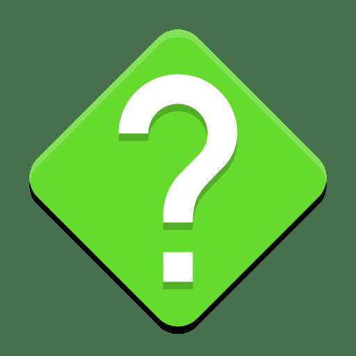 Dialog-question icon