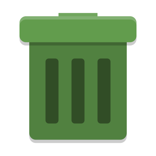 User-trash icon