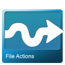 File actions icon