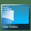 Hide folders icon