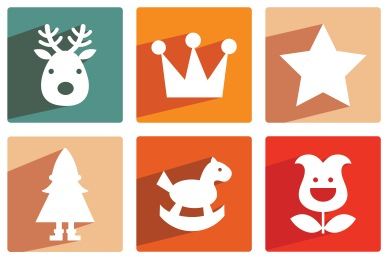 Christmas Shadow 2 Icons