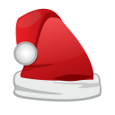 Christmas Santa Cap icon