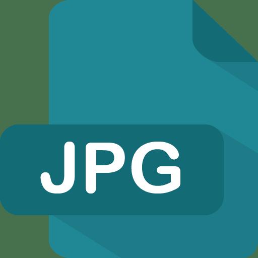 Jpg Icon | Flat File Type Iconset | PelFusion