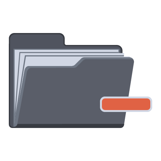 Collapse Folder icon