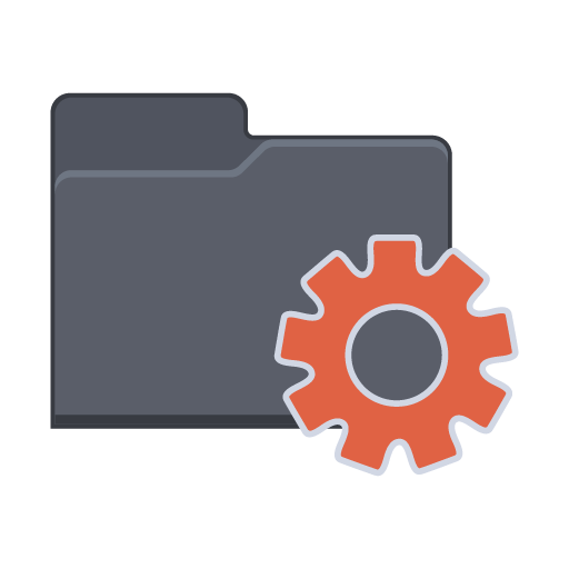 Setting-Folder icon