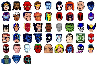 Heroes And Villains Icons