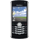 BlackBerry-Pearl-black icon