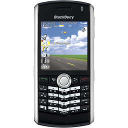 BlackBerry Pearl black icon