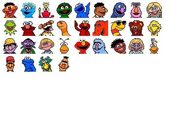 Sesame Street Icons