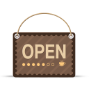 Store open icon