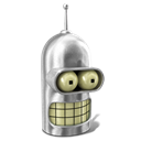 Bender Shiny Metal icon