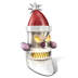Robot-Santa icon