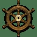Steering Wheel Ship icon