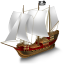 Pirate Ship icon
