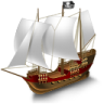 Pirate-Ship icon