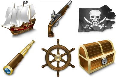 Pirates Icons