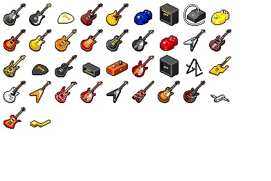 Hide's Guitar 2 Icons