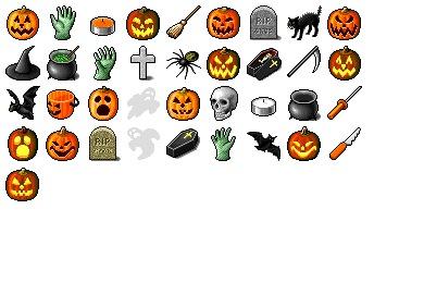 Hide's Halloween Icons